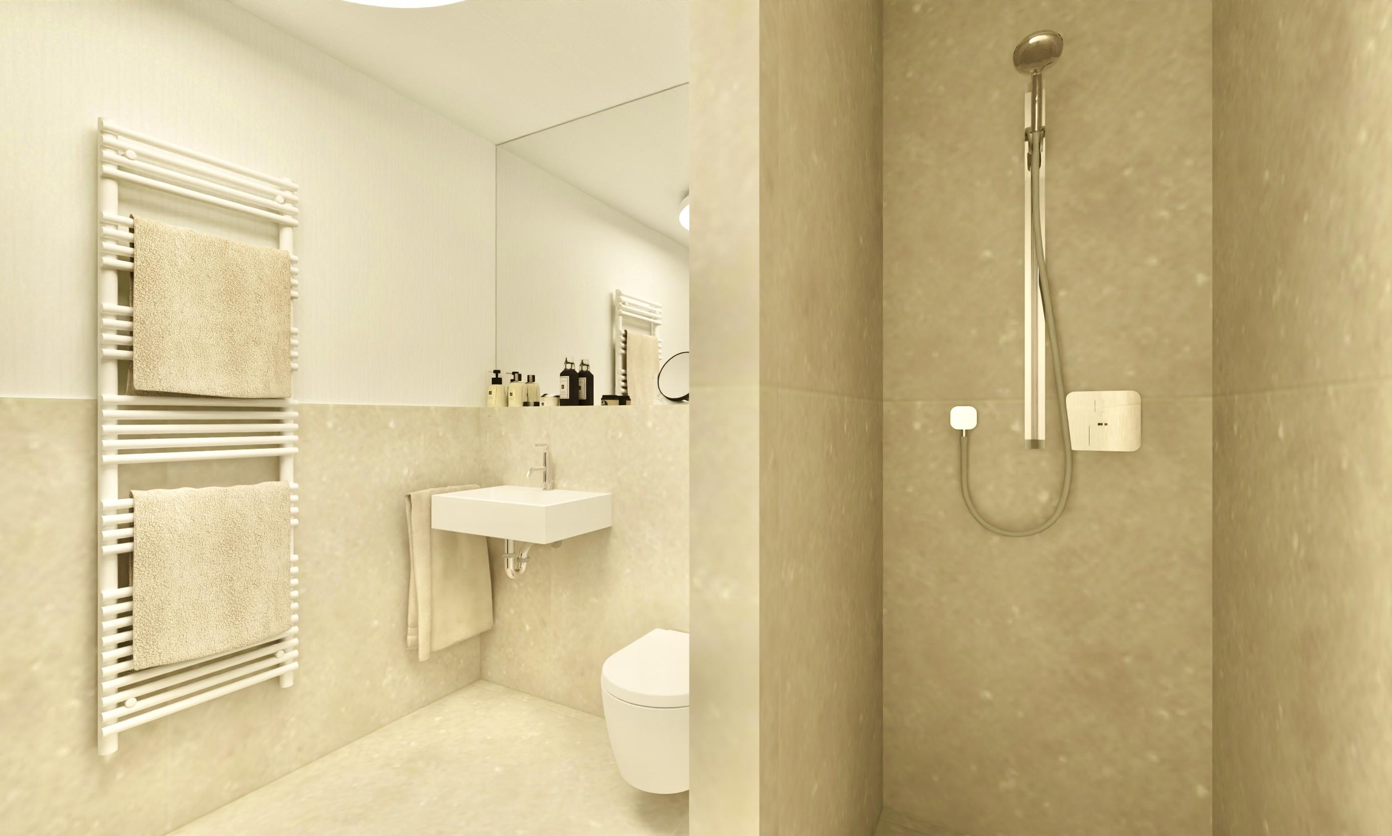 Badezimmer in Forstinning