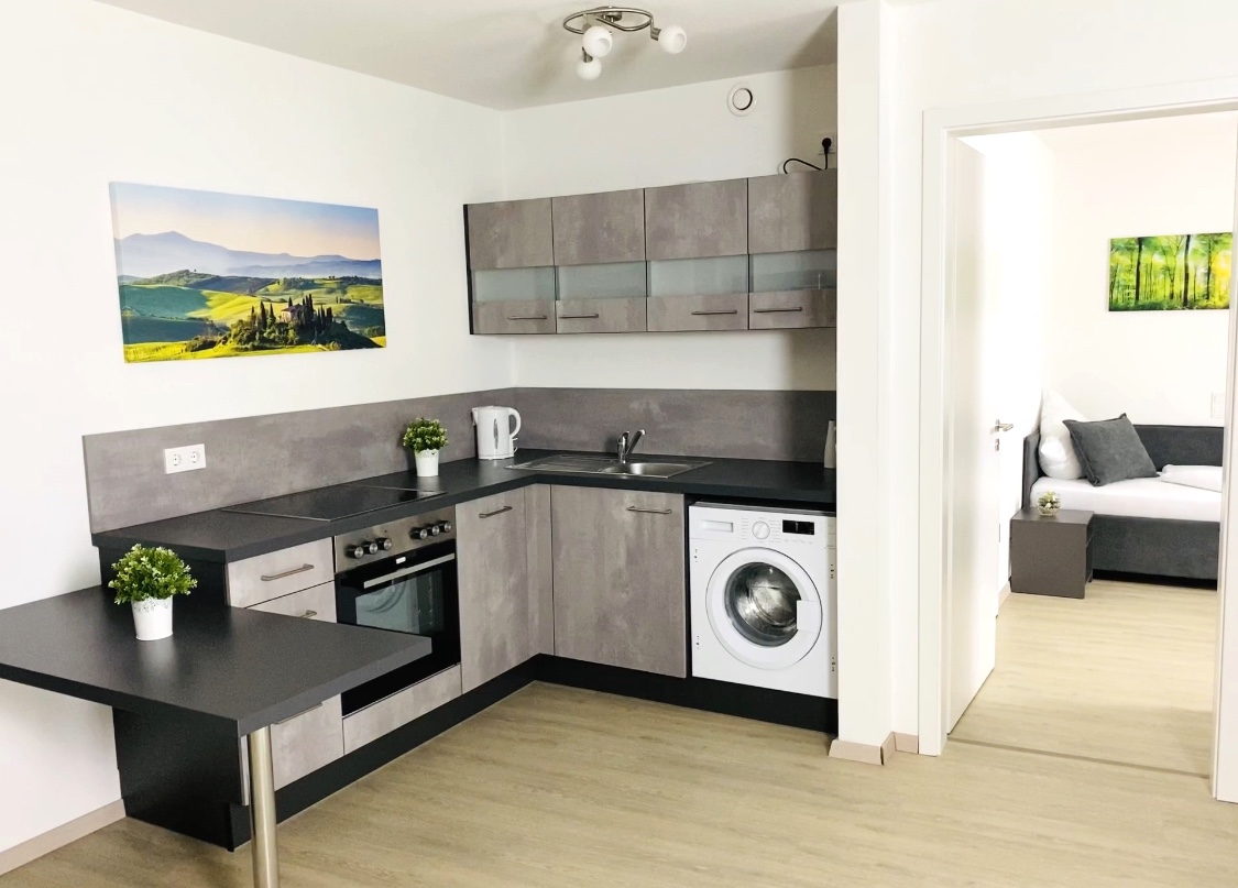 Küche Monteurzimmer Poing