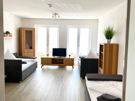 Ein typisches Zwei Bett Monteurzimmer