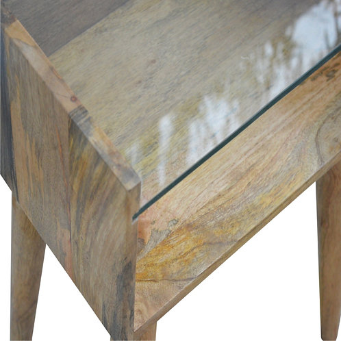 Nordic Style Open Bedside Cabinet