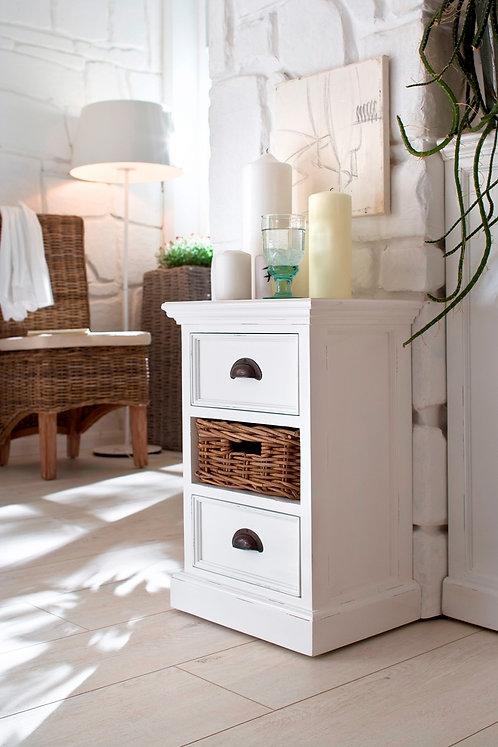 Bedside Storage Unit with basket