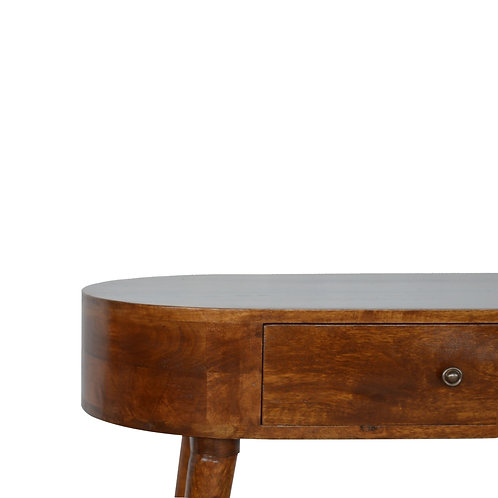 Rounded Petite Console Table