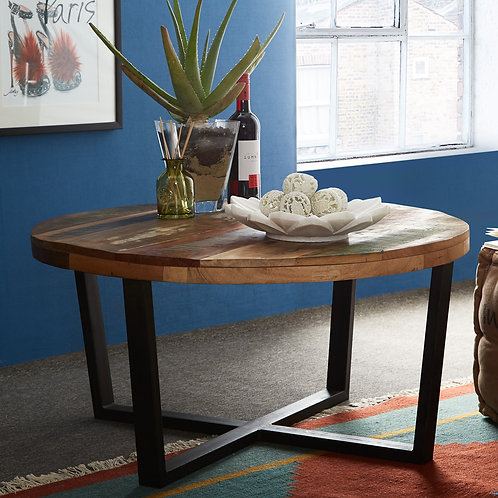 Coastal Round Coffee Table