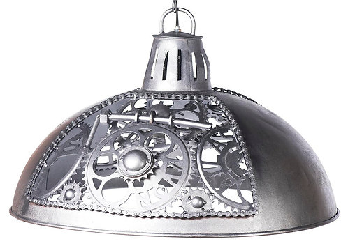 Ceiling Light With Ornate Cog Desgn