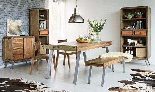 Aspen Retro Large Dining Table