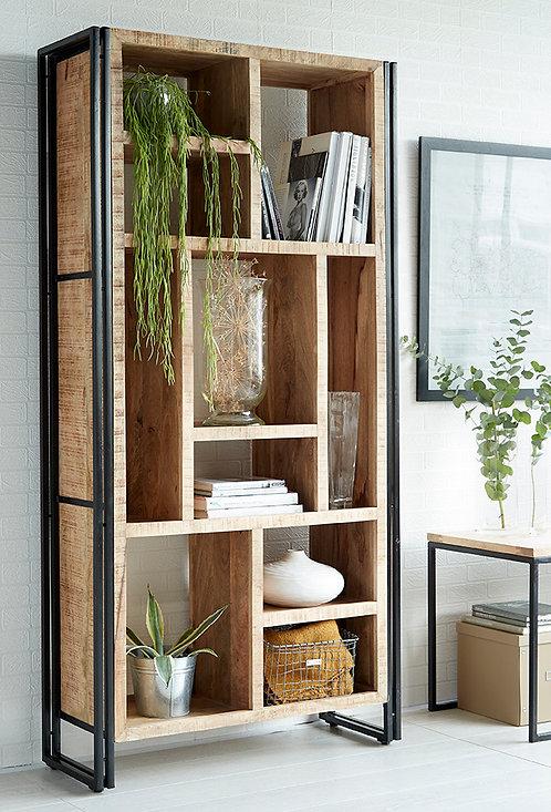 Cosmo Industrial Multi Shelf Bookcase Unit