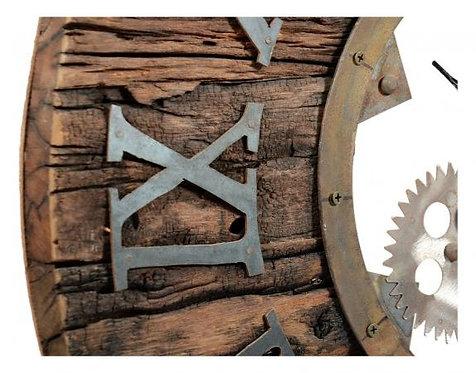 Sillipar Wooden Clock with Iron Bearing
