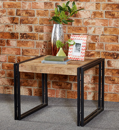 Cosmo Industrial Small Coffee Side Table
