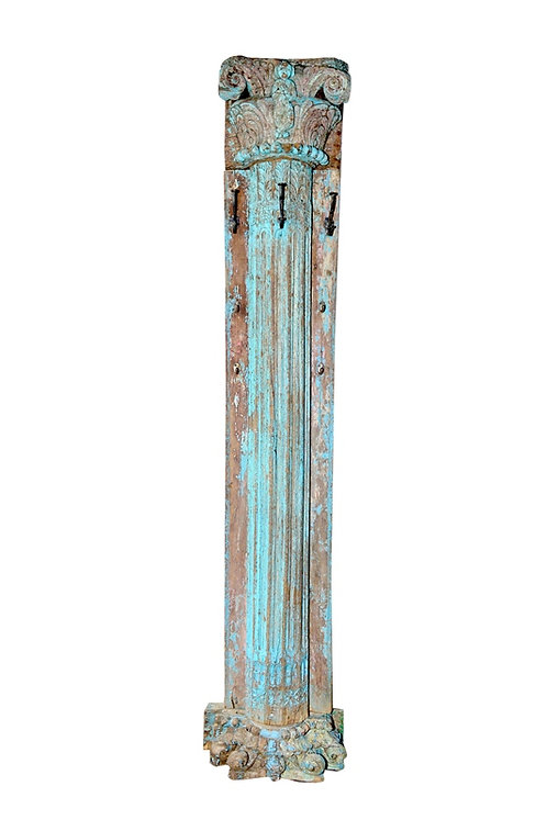 Upcycled Pillar Coat Stand