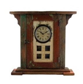 Upcycled Vintage Window Clock with Pendulum
