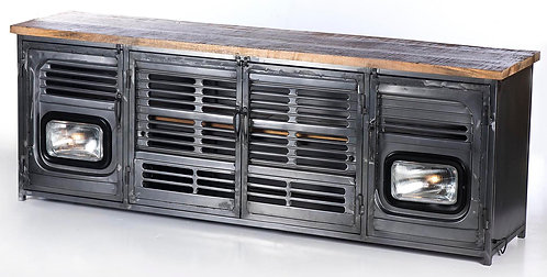 Upcycled Truck Front TV Unit