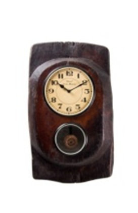 Upcycled Old Wooden clock with Pendulum