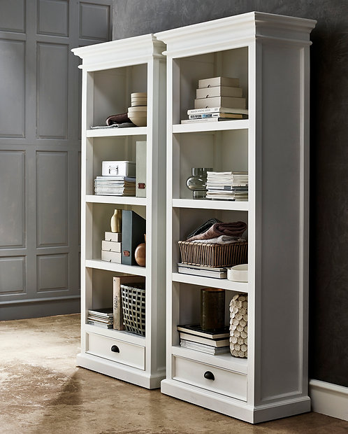 Halifax Bookcase with Drawer