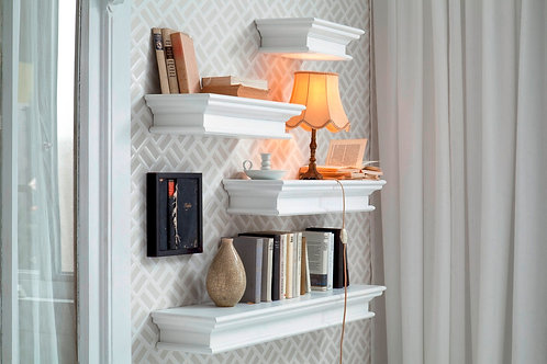 Floating Wall Shelf, Extra Long