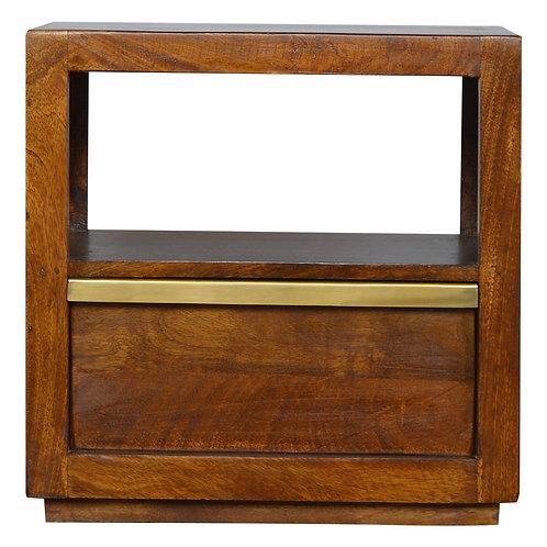 Chestnut Bedside Table