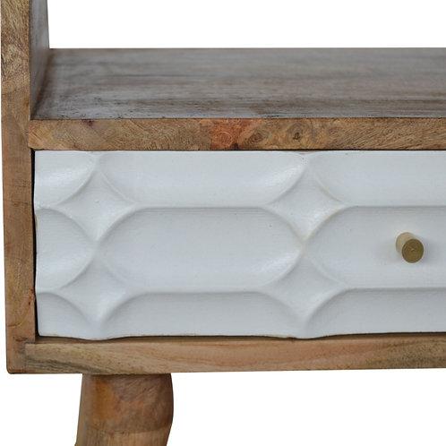 Capsule Carved Bedside
