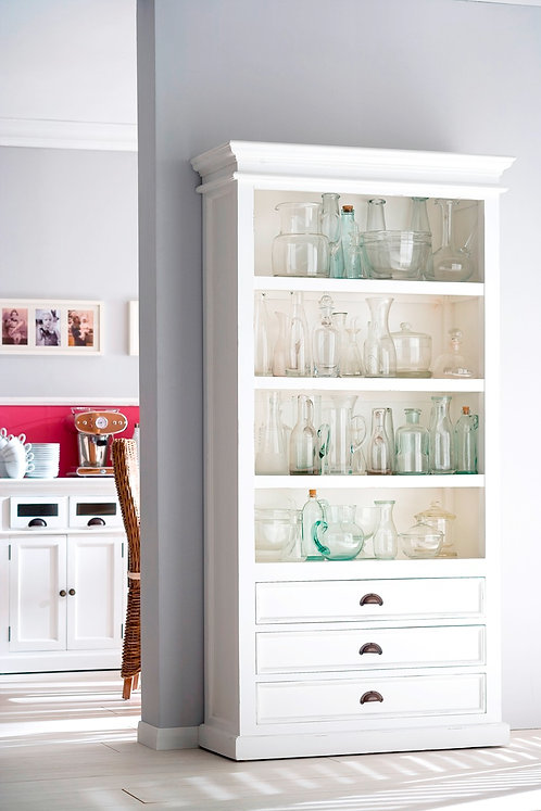 Halifax Large Bookcase with Drawers