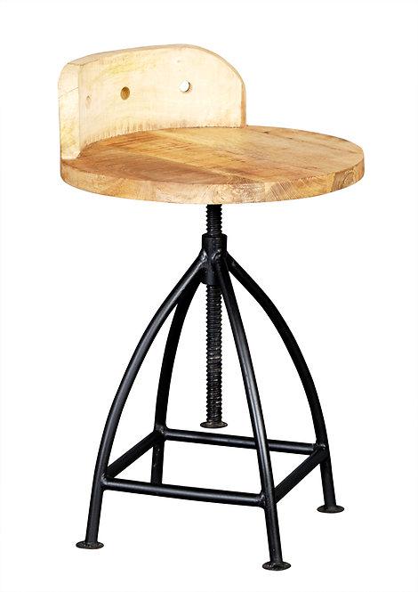 Cosmo Industrial Adjustable Wooden Chair