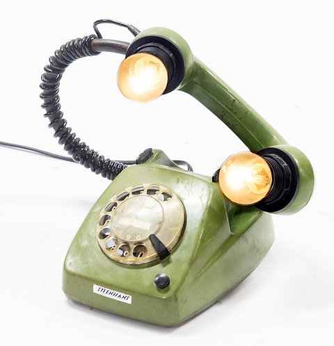Retro Telephone Table Lamp