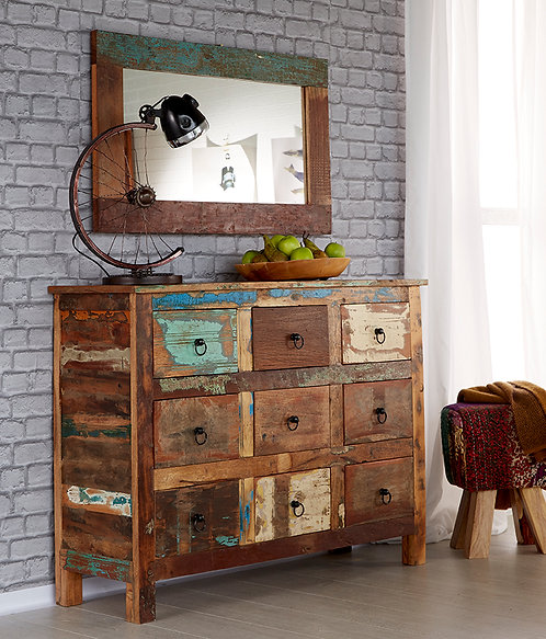 Coastal 9 Drawer Chest