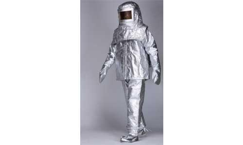 2 layered Aluminized Fiberglass Fire Suit