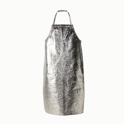 "Aluminized Kevlar Apron 36"" Long"
