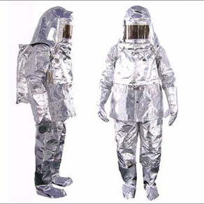Aluminized Fire Proximity Suit - 2 layered