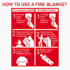 How to use a Fire Blanket?