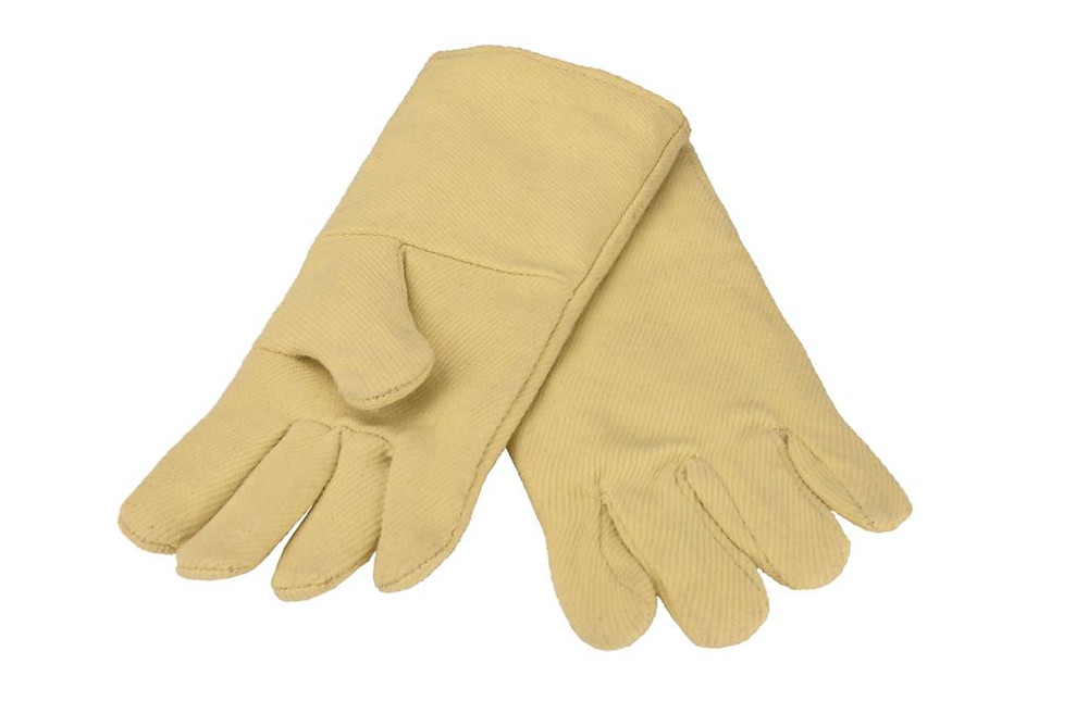 Kevlar gloves for high temperature safety and cut protection