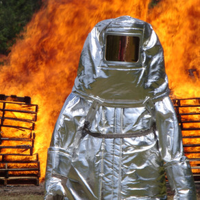 Aluminized Fire Entry Suit - 4 layered