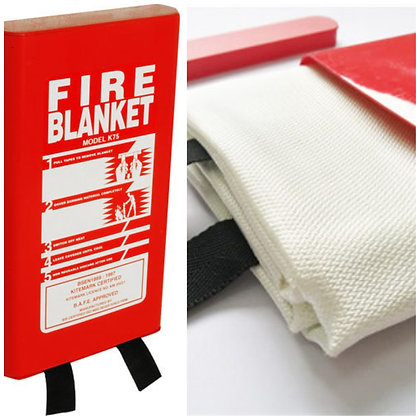 Fire Blanket in Hard Casing 2 m by 1 m