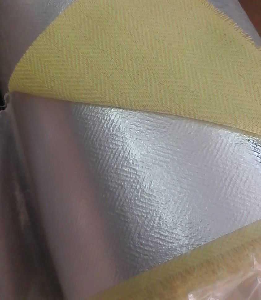 Aluminized Kevlar Para Aramid fabric for fire proximity suit