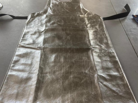 Case Study: Aluminized Apron with Anti Static for an Explosion Factory