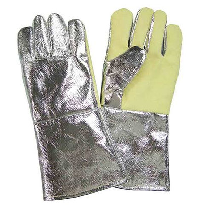 Aluminized Gloves with Kevlar Palm