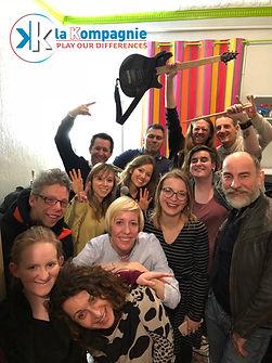 La Kompagnie Ateliers de groupe concert ecole de musique montpellier