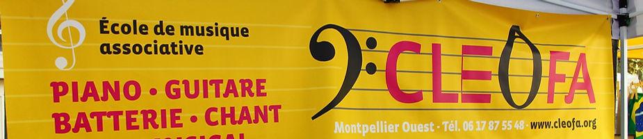 école de musique cléofa montpellier, piano, chant, batterie, guitare,eveil musical