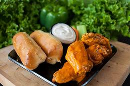 Regular Meal - 6 Wings OR 5 Strips