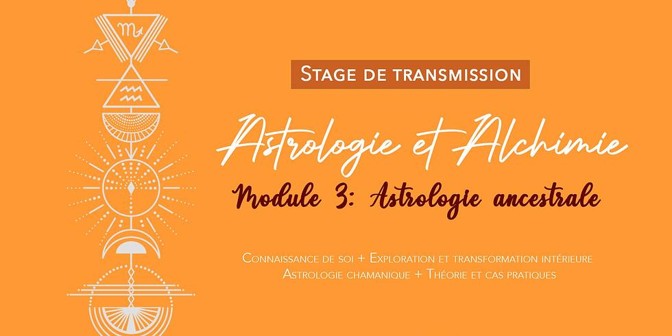 Stage de transmission: Astrologie et Alchimie / Astrologie Ancestrale