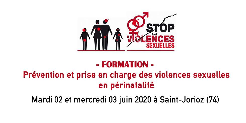 """Formation """"Prise en charge des violences sexuelles en périnatalité"""""""