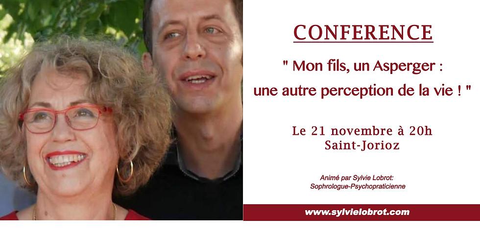Conférence : Mon fils, un Asperger: une autre perception de la vie!