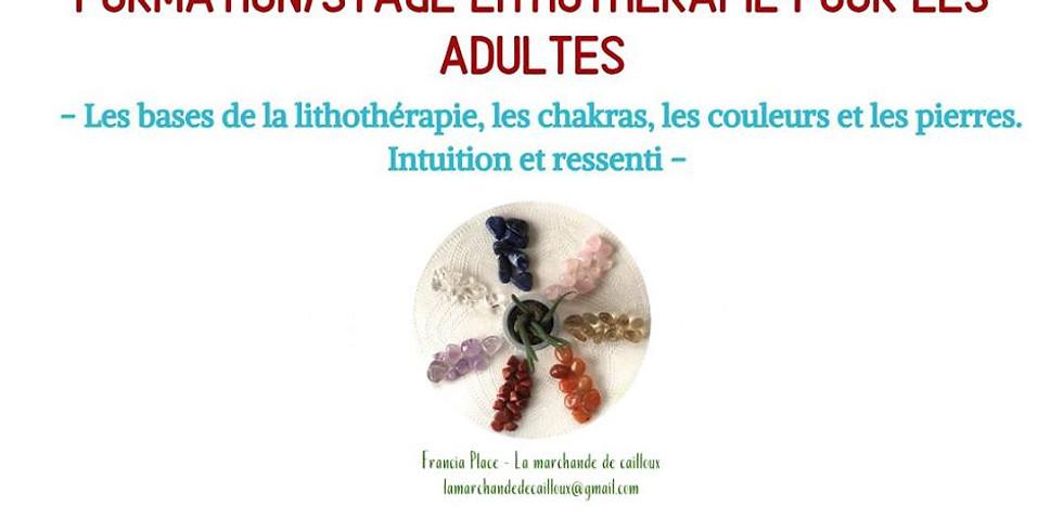Formation/stage de lithothérapie pour les adultes