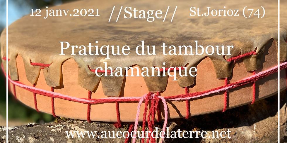 Pratique du tambour chamanique