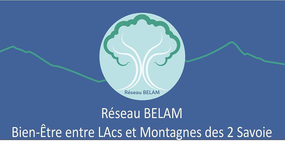 Présentation du Réseau BELAM sur les rives du lac d'Annecy
