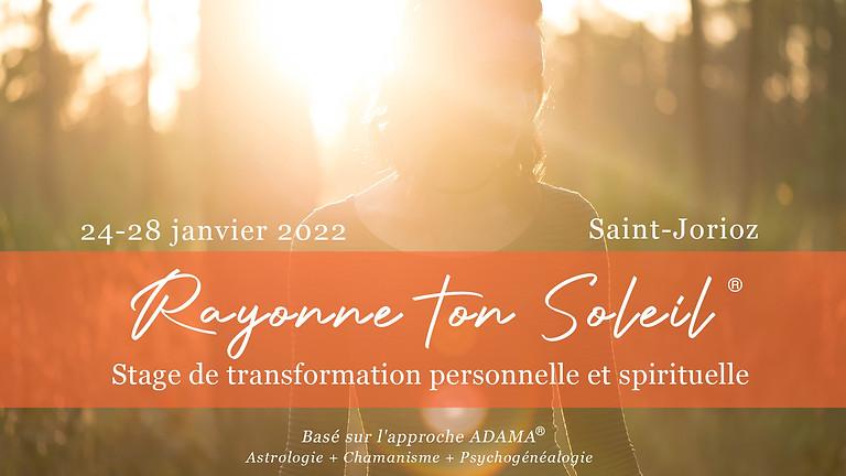 "Stage ""Rayonne ton Soleil"""