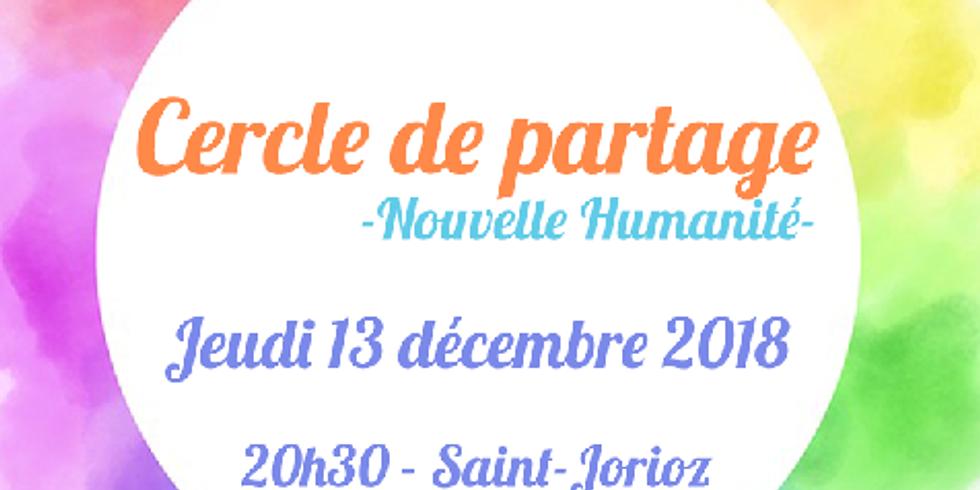 Cercle de partage: Nouvelle Humanité !