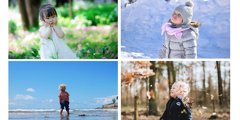 Cycle 4 séances 18 mois/3 ans: La nature et les saisons