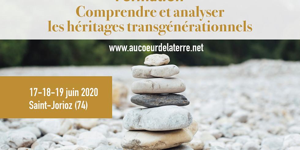 FORMATION: comprendre et analyser les héritages transgénérationnels