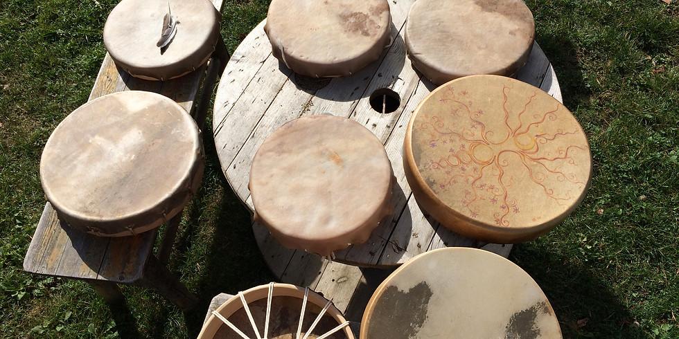 REVEIL DES CHAMANES: Journée atelier fabrication tambour chamanique pour adulte 26/01/19