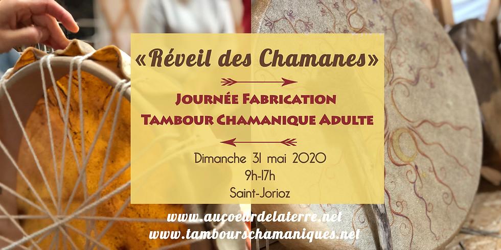Réveil des chamanes: fabrication tambour chamanique adulte 31 05