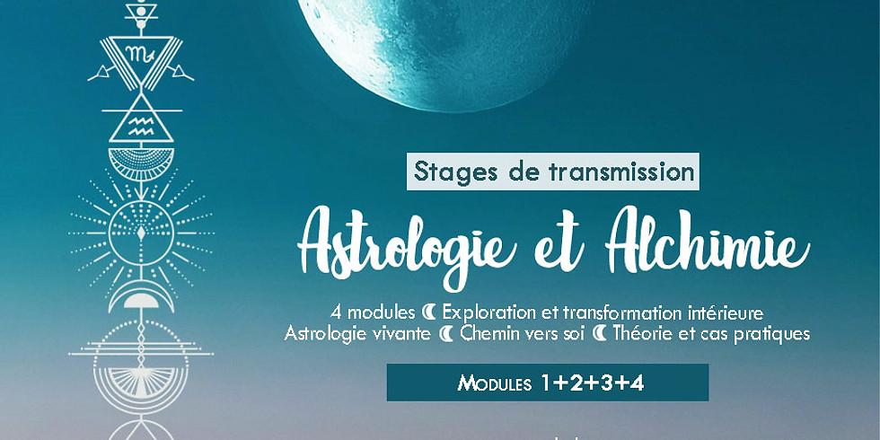 Stage de transmission: Astrologie et Alchimie / Modules 1+2+3+4